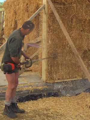 You are browsing images from the article: Helping Build Quality Straw Homes